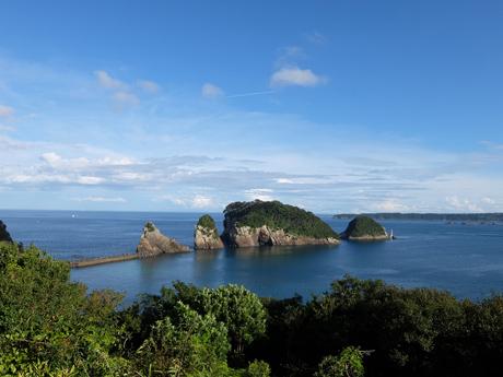 ホテル中の島から見た紀の松島