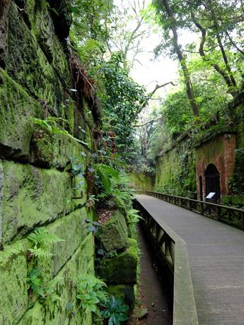 猿島の要塞跡