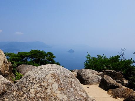 弥山・獅子岩