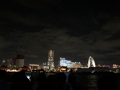 みなとみらいの夜景