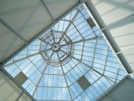 葛西臨海水族園のエントランス天井