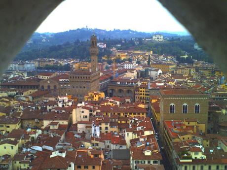 ジョットの鐘楼から見た街並み