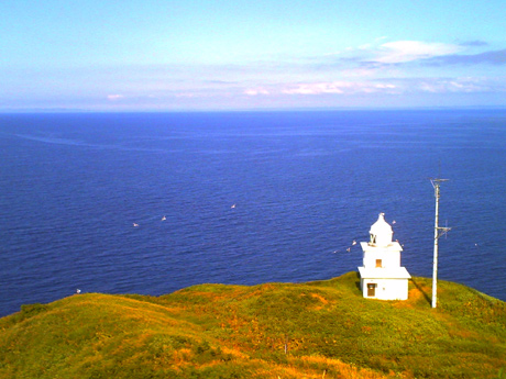 ペシ岬の灯台
