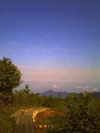 弥陀ヶ原の朝