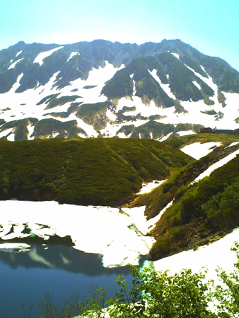 立山とみくりが池
