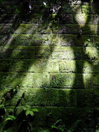 猿島の石垣