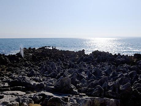 岩井崎の海
