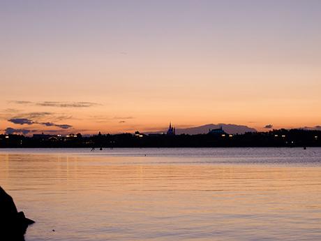 葛西臨海公園の日の出前