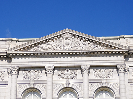 迎賓館の屋根