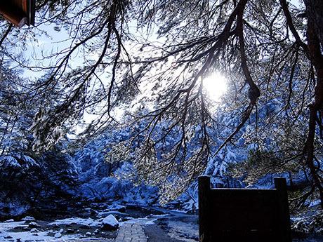 雪の西の河原公園