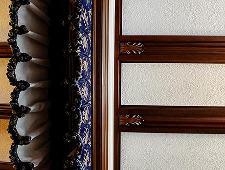 サロンの天井